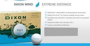 100 Eco Golf Store Item Dixon Friendly Distance Balls 5th Annual Hope Jg