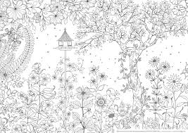Printable Coloring Pages Garden