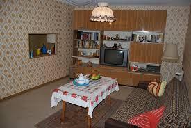 das neu renovierte wohnzimmer in der ausstellung ist fertig