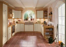 spacious country cottage kitchen design akioz on cabinets
