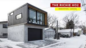 100 Canadian Container Homes The Ritchie HO2 Honomobo Laneway Home In Edmonton