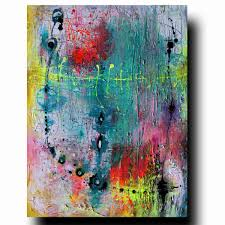 Special Listing For Carrie 6 Paintings Peinture Acrylique