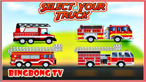 100 Fire Truck Game S Car Wash Repair Video For Kids Kids