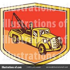 100 Tow Truck Clipart 1313740 Illustration By Patrimonio