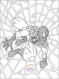 Photos Spiderman Coloring Pages Pdf