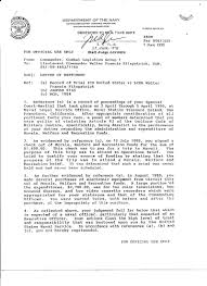 Letter of Reprimand page 1