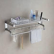 eridanus badezimmer regal bad ablage dusche handtuchhalter 60 cm lang 15 kg belastbar