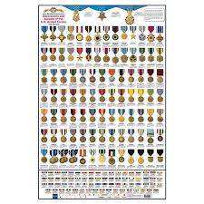 military charts books posters medals of america