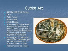 Picasso Still Life With Chair Caning Analysis by Impressionism Impressionism Art Characteristics Concerned With