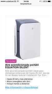 Aire Acondicionado Panasonic Aire Acondicionado Portatil Doble Conducto El Corte Ingles