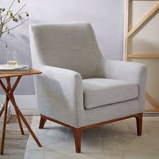 West Elm Everett Chair Leather by Designer Love Select Distressed