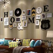 de hx fotorahmen fotowand fotorahmen wand wohnzimmer