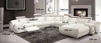 canape panoramique canapé panoramique design fresno un canapé aux dimensions