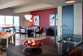 Red Accent Wall Living Room Ideas For Dining