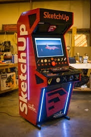 Diy Arcade Cabinet Flat Pack by Arcade Machines U2014 Digitally Fabbed