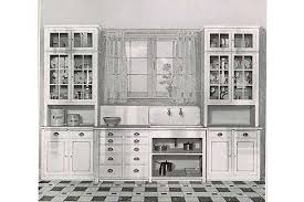 Elegant 1920 Kitchen Cabinets and 12 Best 1920s Kitchens