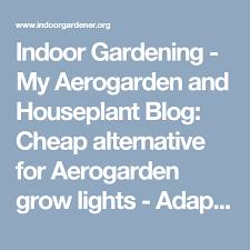 indoor gardening my aerogarden and houseplant cheap