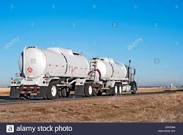 Semi-truck And Trailer Combination Known As A