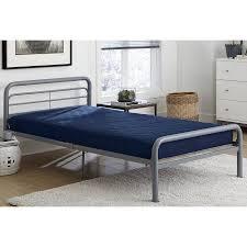 Dorel Twin Over Full Metal Bunk Bed by Dorel Twin Over Full Silver Metal Bunk Bed With Set Of 2