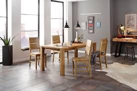 home affaire essgruppe nils 7 set 5 tlg tisch 180 90 cm 4 stühle holzsitz aus massivholz