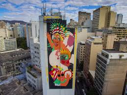 Most Famous Mural Artists by Cura Belo Horizonte U0027s First Mural Festival