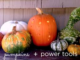 Pumpkin Carving Drill Holes by Pumpkins U0026 Power Drills 10 Creative Jack O U0027 Lantern Ideas