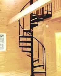 Wood Treads Alum HR Continous Sleeves Tiny House Lofts
