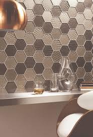 Metallic Tile Effect Wallpaper by 12 Best M E T A L L I C S Images On Pinterest Bathroom Ideas