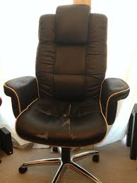 Black Faux Leather Executive Office Chair | In Dundee | Gumtree Luxury Pu Leather Executive Swivel Computer Chair Office Desk With Latch Recline Mechanism Brown Eliza Tinsley Black Belleze Highback Ergonomic Padded Arms Mocha Barton Economy Hydraulic Lift Senarai Harga Style Lifted Household Multi Heavy Duty Task Big And Tall Details About Rolling High Back Essentials Officecomputer Belleze Tilt Lumber Support Faux For Look Costway