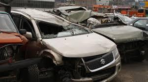 patio de autos quito en ocho patios a parar los carros accidentados en las v祗as de