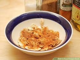 Toasting Pumpkin Seeds In Microwave by How To Roast Pumpkin Seeds 11 Steps With Pictures Wikihow