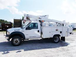 2006 FORD F550 BUCKET BOOM TRUCK FOR SALE #11104