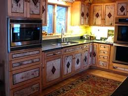 Rustic Kitchen Cabinet Cabinets Best Ideas On To Be Placed With Tin