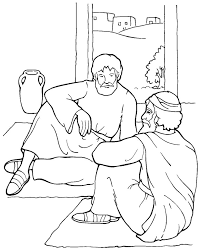 Acts Pauls Conversion Baptism The Apostle Paul Coloring Page