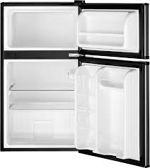 GE GDE03GLKLB 19 Inch Top Freezer pact Refrigerator with 2