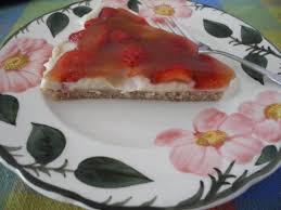 vegan erdbeer pudding kuchen