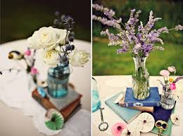 Book Themed Centerpieces