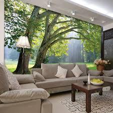 großhandel wholesale 3d fototapete naturpark baum wandbilder schlafzimmer wohnzimmer sofa tv hintergrund wandbild tapeten asite 16 85 auf