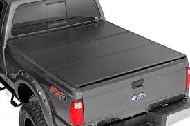 100 F 150 Truck Bed Cover Rough Country 45515550 Hard Triold Tonneau 55foot