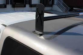 Universal Pickup Truck Cap Topper 2 Bar Ladder Roof Van Rack ...