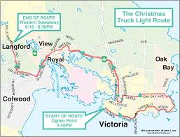 2017 IEOA Truck Light Convoy Route Map -