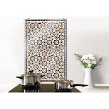 wall küchenrückwand spritzschutz orientalische kacheln