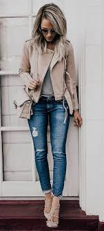 200 Cute Ripped Jeans Outfits For Winter 2017