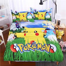 bedding set Pokemon Go Pikachu Unique and Exclusive Design