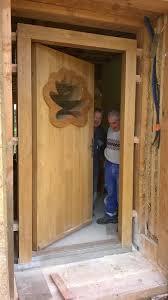 porte de la cuisine ty plouz l histoire de l autoconstruction de notre maison en