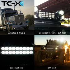 Tc-X 2Pcs 9 Inch 54W Led Light Bar Ultra Flood Lights For Truck ... 4x 4inch Led Lights Pods Reverse Driving Work Lamp Flood Truck Jeep Lighting Eaging 12 Volt Ebay Dicn 1 Pair 5in 45w Led Floodlights For Offroad China Side Spot Light 5000 Lumen 4d Pod Combo Lights Fog Atv Offroad 3 X 4 Race Beam Kc Hilites 2 Cseries C2 Backup System 519 20 468w Bar Quad Row Offroad Utv Free Shipping 10w Cree Work Light Floodlight 200w Spotlight Outdoor Landscape Sucool 2pcs One Pack Inch Square 48w Led Work Light Off Road Amazoncom Ledkingdomus 4x 27w Pod