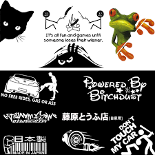 JDM FUNNY CAR Sticker Decals Auto Cars SUV Window Door Wall Vinyl ... 12 Of The Coolest Car Decals Dream Cars And Cars 4x4 Boar Totem Fangs Hog Hunting Stickers Cool Motorcycle 1979 Ford Truckcool Window Decals Youtube Baby Inside Window Decal Life Saver Warning In Case On Accident 2 22 Hoonigan Ken Block Hater Jdm Euro Tribal Mama Bear Max Tani Twitter Its Almost 2018 Cool Truck Decals Are 1 Vingtank Star Skull Sticker Wall Creative Partial Vehicle Wraps Category Touch Graphics Get Wrapped Hot Truck Super Mountain Range Vinyl New No This Is Not My Husbands This Buy Reflective Roaring Little Tiger Styling