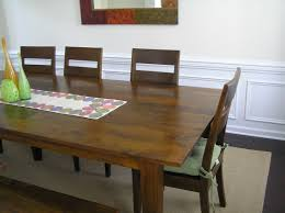 kitchen table round crate and barrel glass solid wood 6 seats