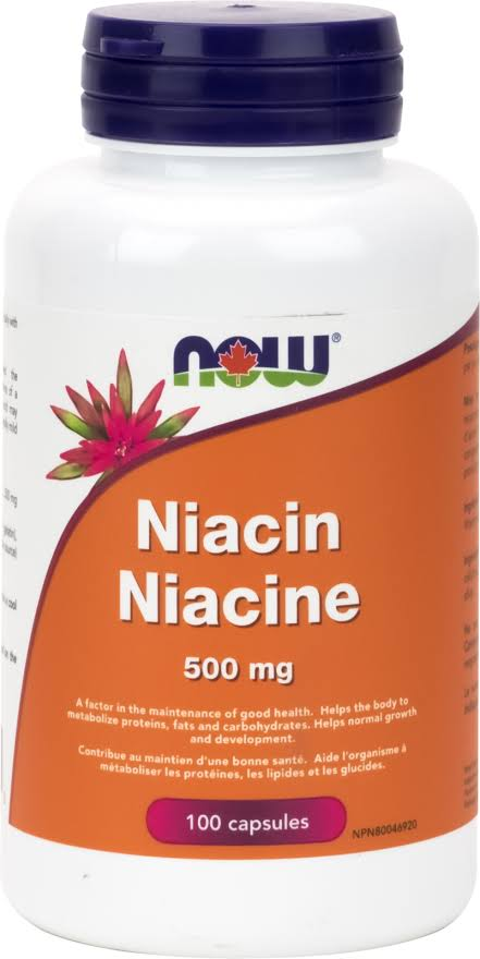 Now Flush-free Niacin Dietary Supplement - 250mg, 90ct