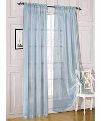 manificent design blue sheer curtains innovation amazon com 2
